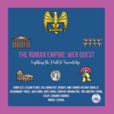 Roman Empire Web Quest (Middle School)