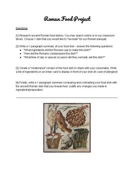 Roman Food Project