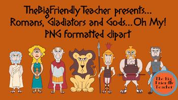 Roman, Gladiators and Gods, OH MY!