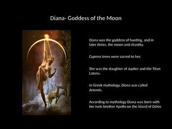 Roman Gods and Goddesses Powerpoint