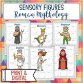 Roman Gods and Goddesses Sensory Figures