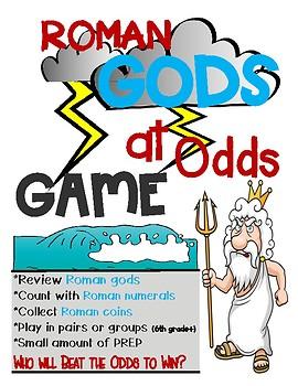 Roman Gods at Odds Game