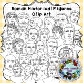 Roman Historical Figures Clip Art