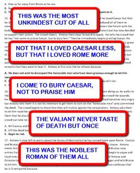 Ancient Roman History: Shakespeare's Julius Caesar - WHAT HAPPENS NEXT?