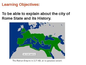 Roman History and Quiz