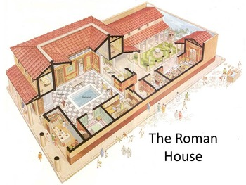 Roman House Powerpoint Worksheet And Performance Task By Ab Ovo