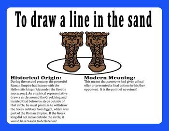 Meaning Draw A Line In The Sand