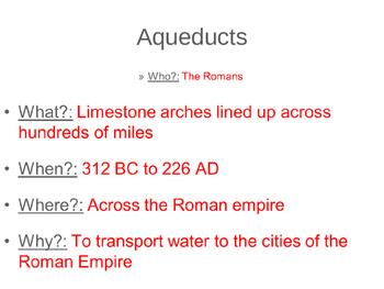 Roman Influences: Art, architecture, religion and more