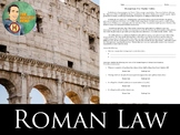 Roman Law - The Twelve Tables