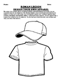 Roman Legion Design your own apparel assignment