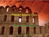 Roman Math PowerPoint Quiz