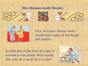 Roman Mosaic PPT (editable)