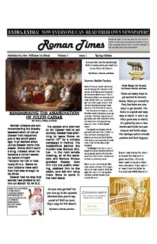 Roman Newspaper
