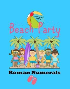 Roman Numeral Beach Party