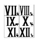 Roman Numeral Matching Cards