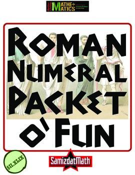 Roman Numeral Packet o' Fun!