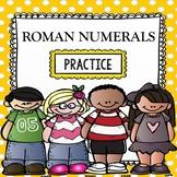 Roman Numerals Practice