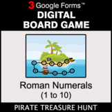 Roman Numerals (1 to 10) - Digital Board Game | Google Forms