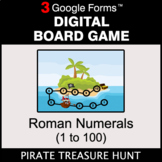 Roman Numerals (1 to 100) - Digital Board Game | Google Forms