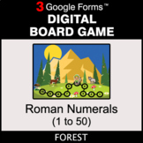 Roman Numerals (1 to 50) - Digital Board Game | Google Forms