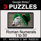 Roman Numerals (1 to 50) - Google Slides - St. Patrick's D