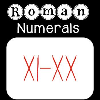 Roman Numerals {11-20}