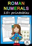 Roman Numerals – 15+ printables/activities