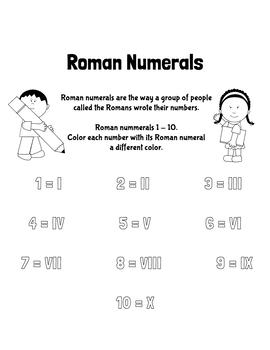 Roman Numerals