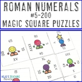 Roman Numerals #5-100 by 5s and 100-200 by 25s | Roman Numerals