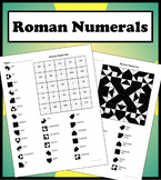 Roman Numerals Color Worksheet