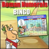 'ROMAN NUMERALS' - 'Bingo' is an Enjoyable Roman Numerals Game - Heaps of Fun!