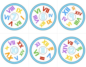 Roman Numerals Game | Look Around! Math Games