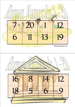 Roman Numerals Games Bundle