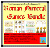 Roman Numerals Games Bundle