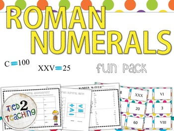 Roman Numerals - Learning fun, games and more!