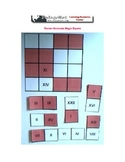 Roman Numerals Magic Square