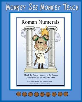 Roman Numerals ( Matching)