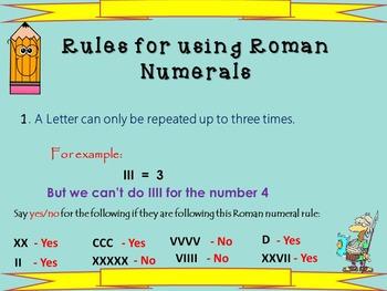 roman numerals by mrs j 39 s resource creations teachers pay teachers. Black Bedroom Furniture Sets. Home Design Ideas