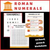 Roman Numerals Unit: Roman Numeral Games & Bingo