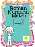Roman Numerals matching