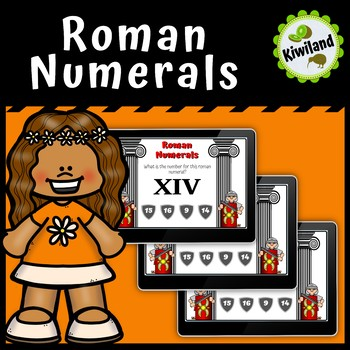 Roman Numerals to Base Ten - Boom Learning Cards