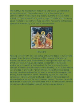 Roman Persecution of Early Christians