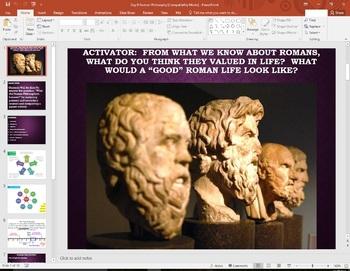Roman Philosophy  Western Civilization History 101