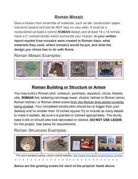 Roman Projects