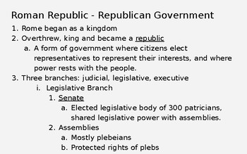Roman Republic/ Expansion and Punic Wars PPT