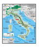Roman Republic: Geography worksheet and map