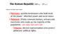 Roman Republic: Government PPT