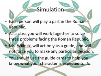 Roman Republic Simulation