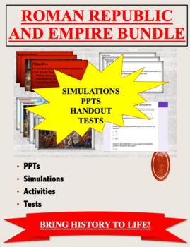 Roman Republic and Empire BUNDLE by HistoryHistoryRocks | TpT on