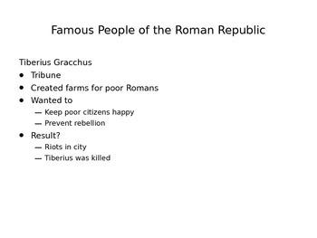 Roman Republic in a Day ppt